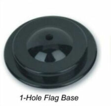 Wholesale Lot 24 One Hole Black Base For Desk Set Table Stick Flags