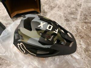Fox Speedframe Pro MIPS MTB Helmet Green Camo size M 12/2020