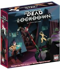 The Captain is Dead - Lockdown -  Strategy Board Game