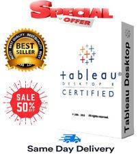 ⚡ Tableau Desktop Pro Edition 2020 🔥 Lifetime Activation 🔥 Fast Delivery ⚡