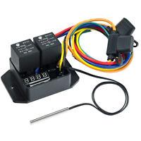 Davies Craig Digital Thermatic EWP / Radiator Fan Switch Kit, Controller, SPAL