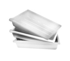 "Paterson Plastic Developing Tray - for 20x24"" (White) (3 Pack)"