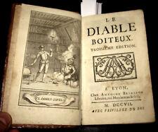 1707 Lesage  - DE GUEVARA, LE DIABLE BOITEUX - Il Diavolo Zoppo. RARISSIMO.
