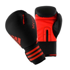 Adidas Hybrid 50 Boxing Gloves - Black, Red (NEW) Lists @ $35