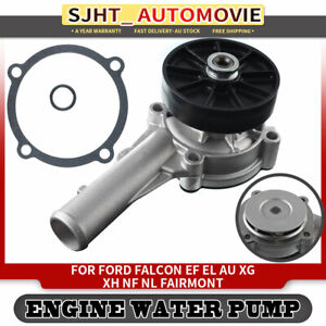 Water Pump fit Ford Falcon Fairlane Fairmont AU NF NL BA EF EL XG XH With Pulley
