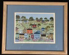 Deborah K. Mayo Print: Friends and Neighbors,  Midwestern Small Town Americana