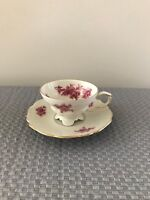 VINTAGE / ANTIQUE CUP AND SAUCER, MINIATURE, EDELSTEIN BAVARIA, MADE IN GERMANY