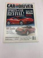 Car and Driver Magazine April 1999 Ferrari 360 Modena MR Spyder