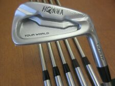 HONMA Tour World 737p Iron Set 5-10 Irons Vizard I60 Regular Graphite