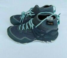 Merrell Women MQM Rush Flex hypernature light blue/gray sneakers shoes size US 7