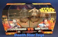 Star Wars ROTS Revenge Sith Battle Arena Grievous Bodyguard Obi-Wan Kenobi Ben