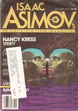 Asimov Sf Oct 1984 84 Kress Dann Lee Gardner Weiner