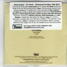 (CH701) Real Estate, It's Real - 2011 DJ CD