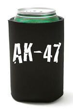 Ak-47 Assault Rifle Can Koozie Coolie Gun Bottle Cooler Tea Party Nra Go Usa!