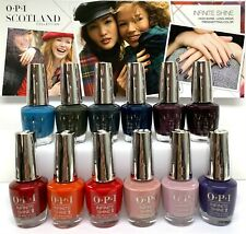 OPI Infinite Shine NL - SCOTLAND Fall 2019 Collection - All 12 Colors