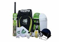 CRICKET BAG BACKPACK- Green/Black- Free Shipping + AU Stock CW