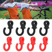 4 Pcs Bow Monkey Tail String Stabilizer Silencer Compound Bowstring Dampener SD