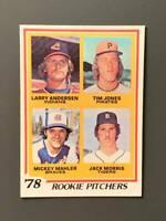 1978 Topps #703 Jack Morris Rookie NM Detroit Tigers HOF