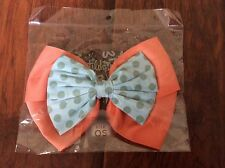 Matilda Jane Loop De Loop Hair Clip Bow NWT Goes With Happy & Free Up In The Air