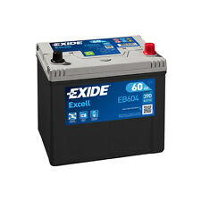 1x Exide Excell 60Ah 390CCA 12v Type 005 Car Battery 3 Year Warranty - EB604