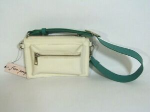 NWT* Boho Free People Leather Modern Pop Belt Bag Artisan genuine leather