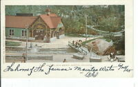 CC-264 CO, Manitou, Manitou Soda Springs Undivided Back Postcard Elevated View