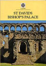J.WYN EVANS & RICK TURNER -  GUIDE TO BISHOP'S PALACE, St. DAVIDS - CADW (1999)