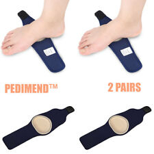 Pedimend™ 2 Pairs Plantar Fasciitis Therapy Arch Support Wrap Strap Flat Feet UK