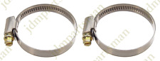 Narrow Band 9mm Steel Hose Clamp 32-50mm - Made in Germany Pack of 2   HC32-50/9