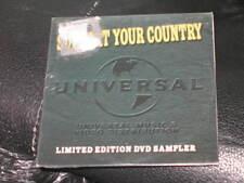 SUPPORT YOUR COUNTRY DVD SAMPLER Rascal Flatts Joe Nichols Jedd Hughes & MORE!