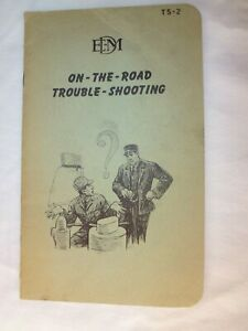 "Vintage 1948 GE EMD F3 Locomotive ""On the Road Troubleshooting"" Booklet Railroad"