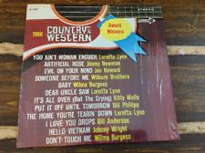 Country & Western Award Winners Vintage Vinyl Record LP 1966