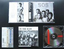 S.O.S. BAND Diamonds In The Raw +1 1989 JAPAN 1ST PRESS CD OBI CSCS 4706 OOP SOS