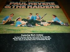 """Paul Revere And The Raiders LP """"Here They Come"""" 1965 on Columbia in VG+"""