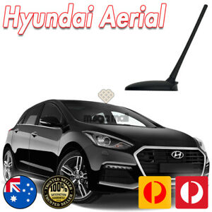 Black Roof Aerial Antenna for Hyundai ix45 ix35 i30 Tucson KIA 7 INCH