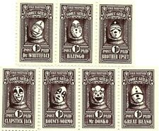 Discworld Stamp 2017 Hall of Faces Clown Limited Edition April Fools Men At Arms