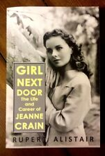 SIGNED PB Biography GIRL NEXT DOOR Life & Career of Jeanne Crain RUPERT ALISTAIR