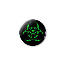Biohazard 1.25in Pins Buttons Badge *BUY 2, GET 1 FREE*