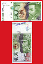 ESPAÑA SPAIN 1000 pesetas 1992 Sin serie Pick 162 SC / UNC