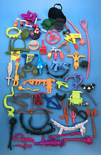 TMNT Playmates vintage lot WEAPONS ACCESSORIES VEHICLE PARTS