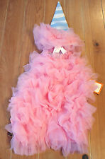 New Pottery Barn Kids COTTON CANDY Costume Dress Toddler Size 3T