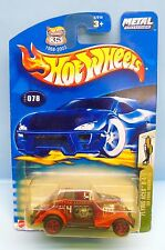 2542 HOT WHEELS / CARTE US / FLYING ACES II 2004 / FORD ROADSTER 1933 1/64