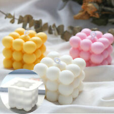 Candle Mould Wax  Plaster Mold DIY Soy Soap 3D Silicone Aromatherapy Candle