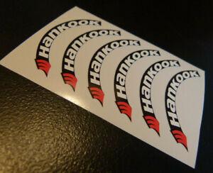 Reifenbeschriftung Mark Hankook Sticker Carson Traxxas Decal 1:5