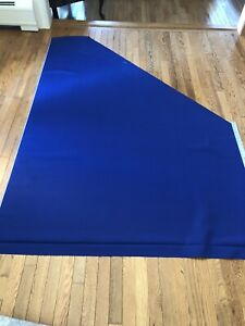Royal Blue Sunbrella Indoor / Outdoor Fabric - 7/8 Yard Plus Attached Remnant