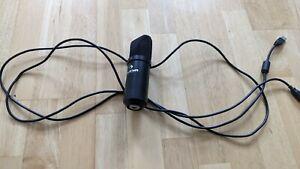 AUNA Mic 900b USB Kondensator / Großmembran Mikrofon + Kabel