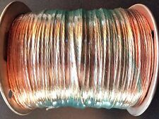 100' Foot, Stranded Bare Copper Wire, # 14 AWG Gauge, Ground Antenna Craft USA