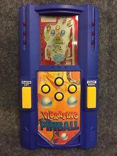 Excalibur Blue Vibrating Pinball Electronic Championship Handheld Game