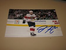 DRYDEN HUNT AUTOGRAPHED FLORIDA PANTHERS 4X6 PHOTO # 1