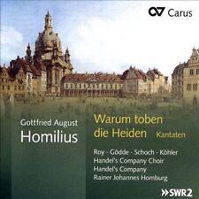 Warum Toben Die Heiden Cantatas, New Music